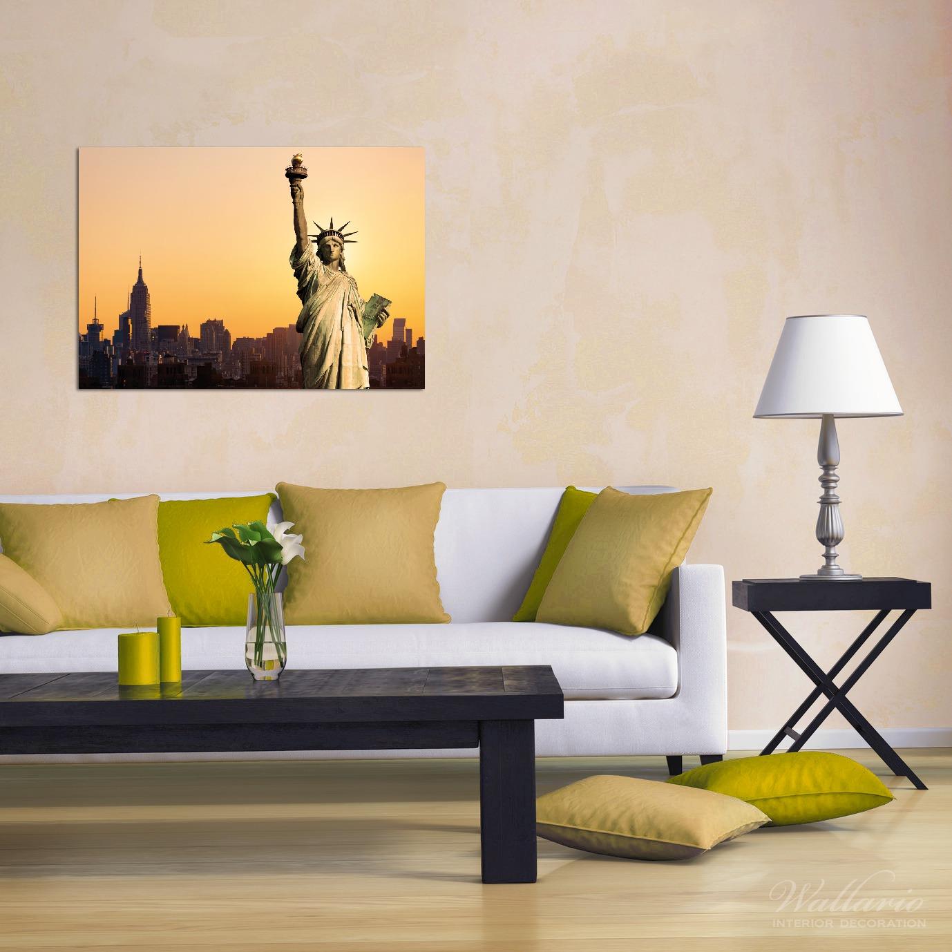 Wandbild Freiheitsstatue New York – Bild 2