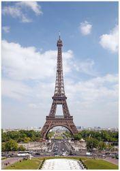 Wandbild Eiffelturm in Paris – Bild 1