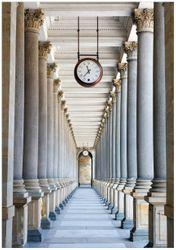 Wandbild Säulengang – Bild 1