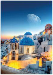 Wandbild Urlaub auf Santorini – Bild 1