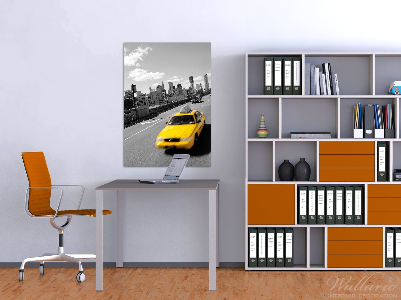 Wandbild New York Yellow Taxi II – Bild 2