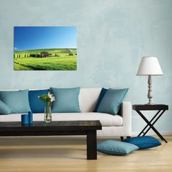 Wandbild Farm in der Toskana – Bild 2