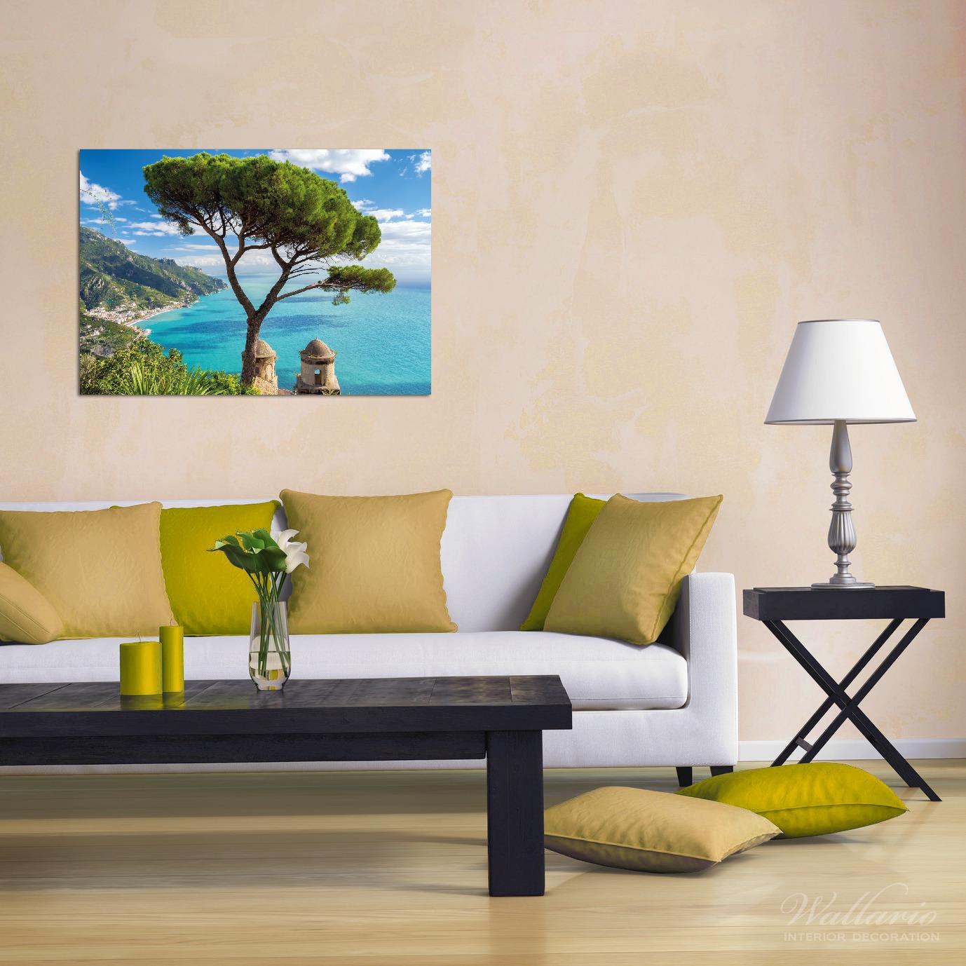 Wandbild Italienische Küste – Bild 2