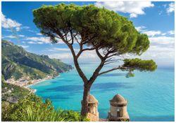 Wandbild Italienische Küste – Bild 1