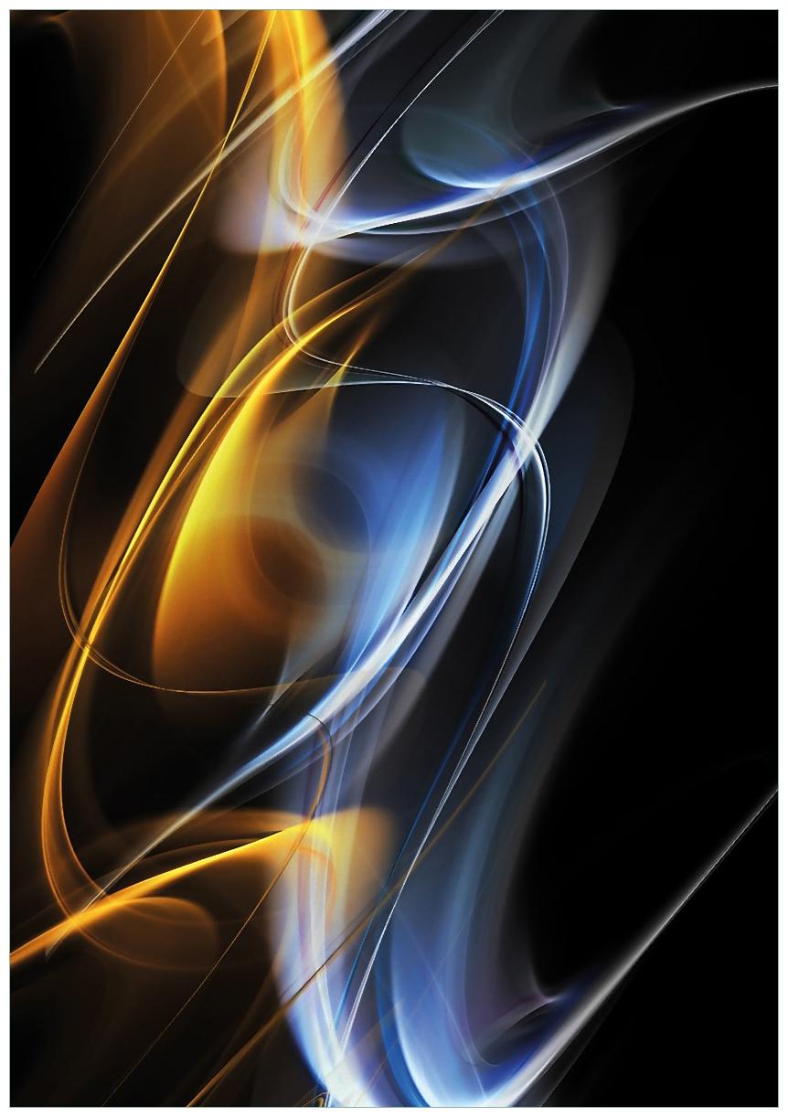Wandbild Abstraktes Design – Bild 1