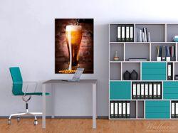 Wandbild Frisches Pils – Bild 2