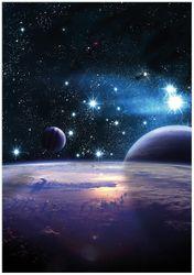 Wandbild Planeten im Weltall – Bild 1