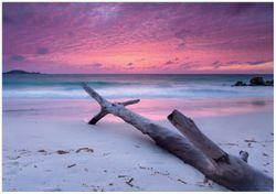 Wandbild Abendhimmel bei Sonnenuntergang – Bild 1