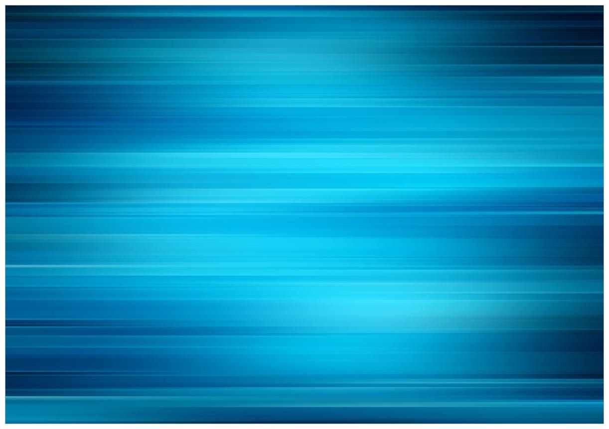 Wandbild Blau und schwarz gestreift - Abstraktes Streifenmuster – Bild 1