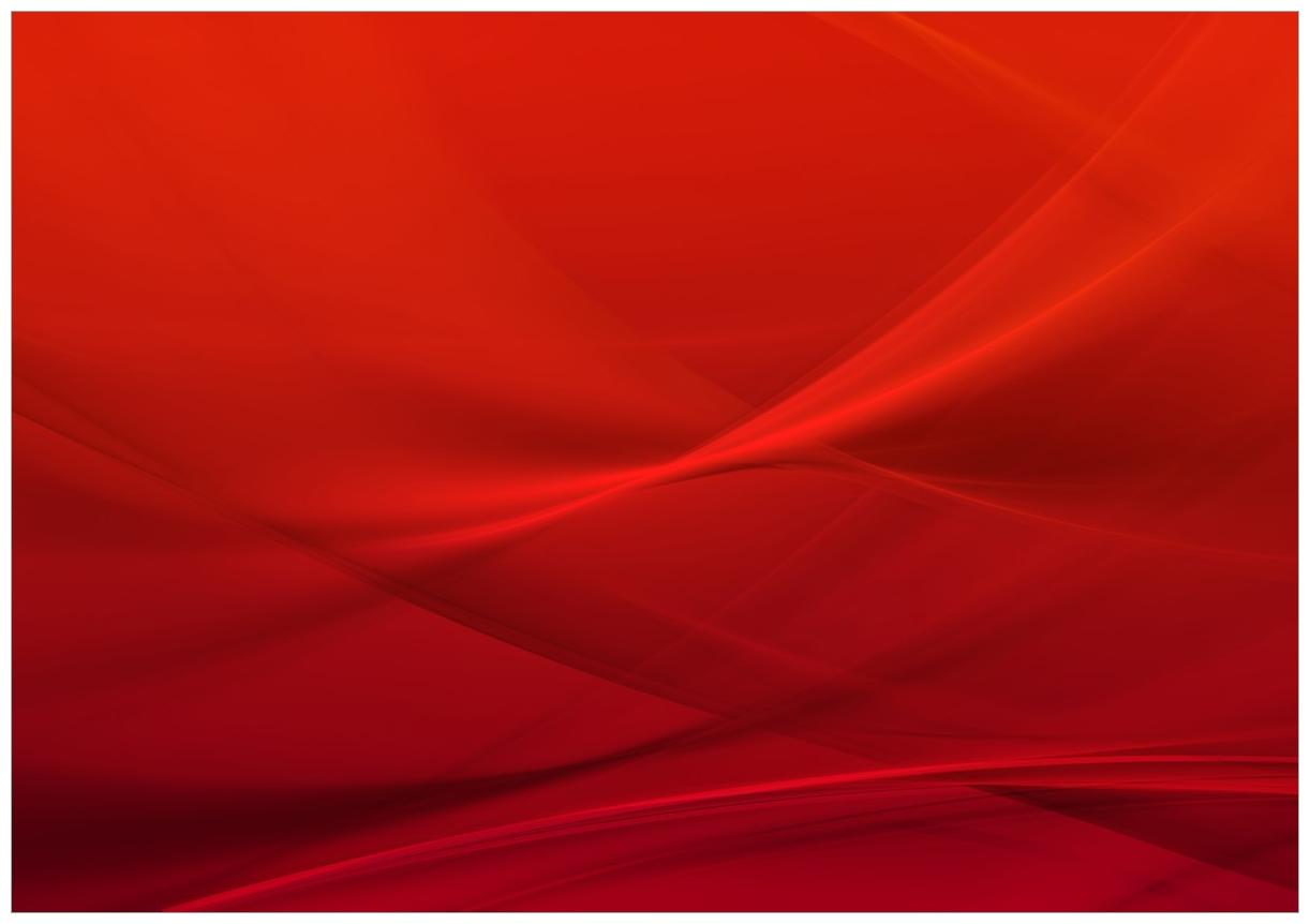 Wandbild Abstrakte rotes Muster - roter Stoff – Bild 1