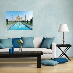 Wandbild Taj Mahal - Mausoleum in Indien – Bild 2