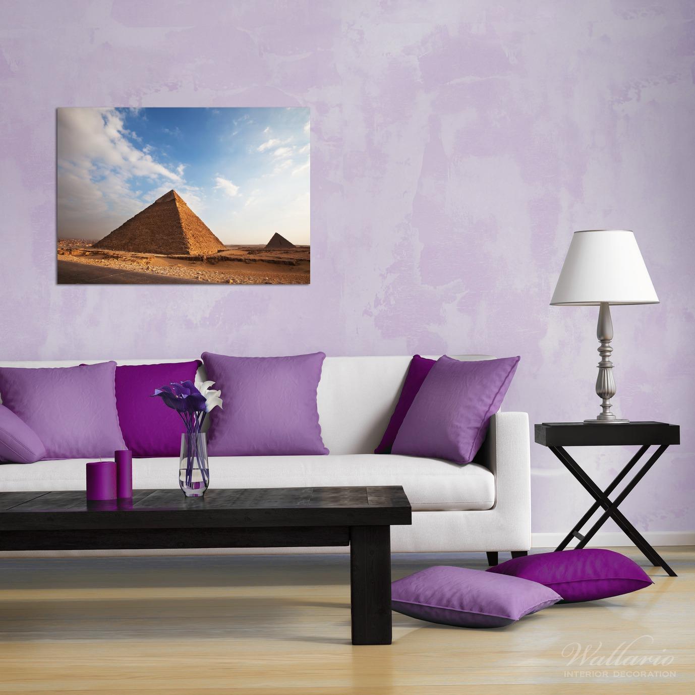 Wandbild Alte Pyramide in Ägypten – Bild 2