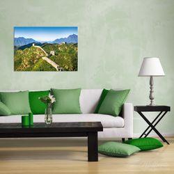 Wandbild Die Chinesische Mauer - Wahrzeichen in China im Sommer – Bild 2