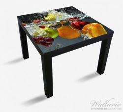Möbelfolie Früchte im und unter Wasser - Splashing Fruits – Bild 1