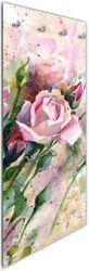 Glasgarderobe Abstraktes Blumenbuket – Bild 1