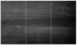 Herdabdeckplatte Dunkler schwarzer Stein - Muster - Steinoptik – Bild 1