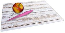 Glasunterlage Helle Holzstruktur - Muster - Alter Dielenfußboden – Bild 2