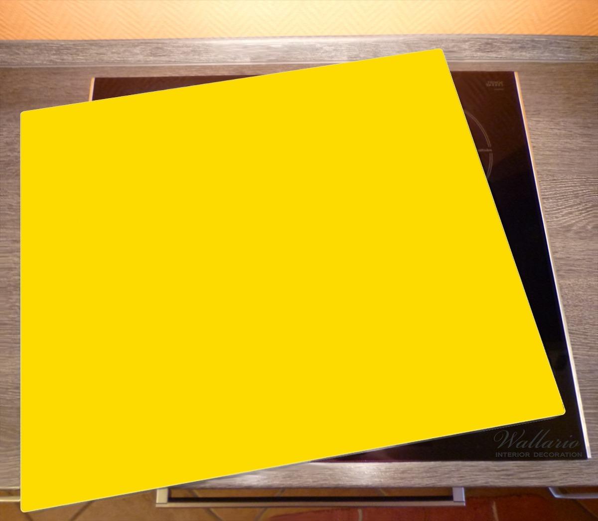 Herdabdeckplatte Gelb – Bild 2