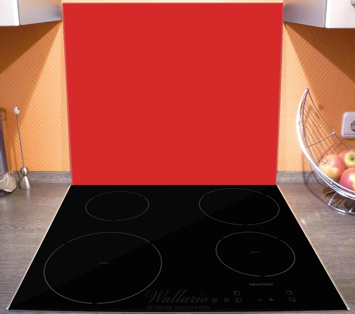 Herdabdeckplatte Rot – Bild 3
