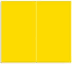 Herdabdeckplatte Gelb – Bild 1