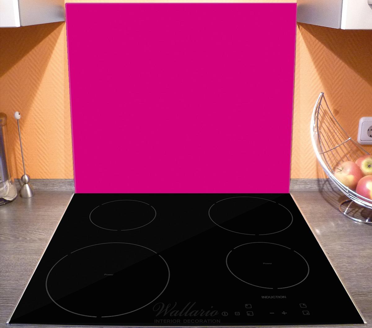 Herdabdeckplatte Pink – Bild 3