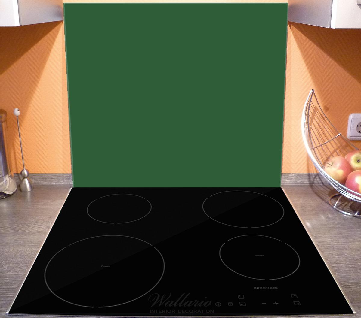 Herdabdeckplatte Dunkelgrün – Bild 3