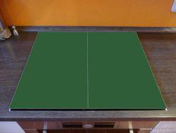 Herdabdeckplatte Dunkelgrün – Bild 2