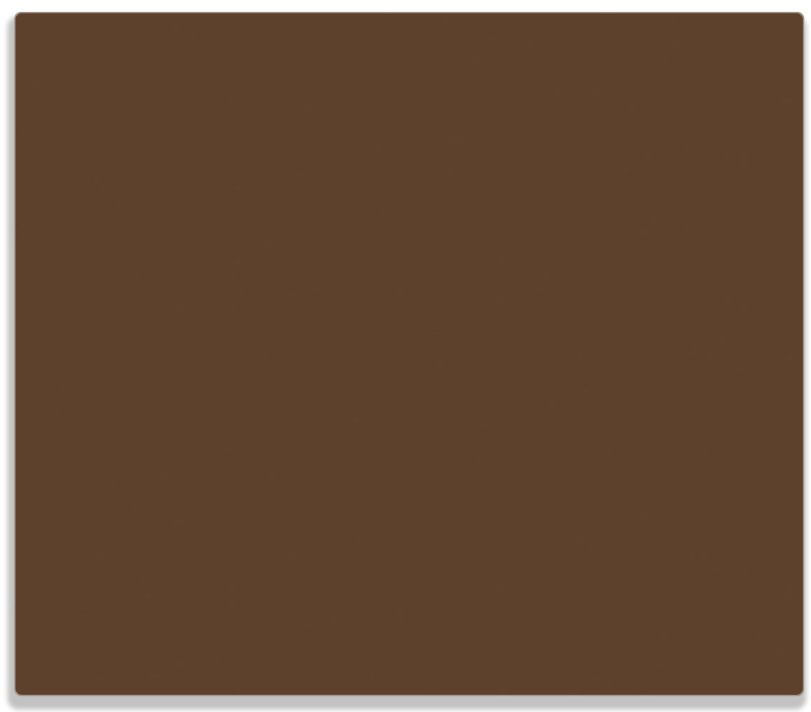 Herdabdeckplatte Braun – Bild 1