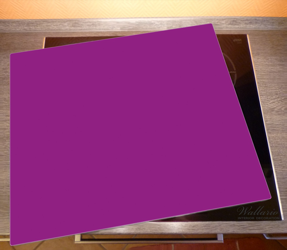 Herdabdeckplatte Lila – Bild 2
