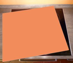 Herdabdeckplatte Pastellorange – Bild 2