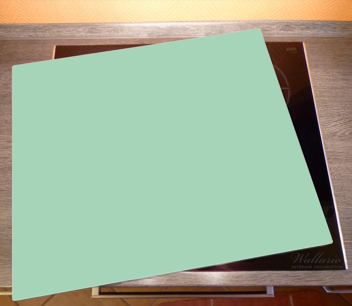 Herdabdeckplatte Pastellgrün – Bild 2