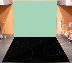 Herdabdeckplatte Pastellgrün – Bild 3