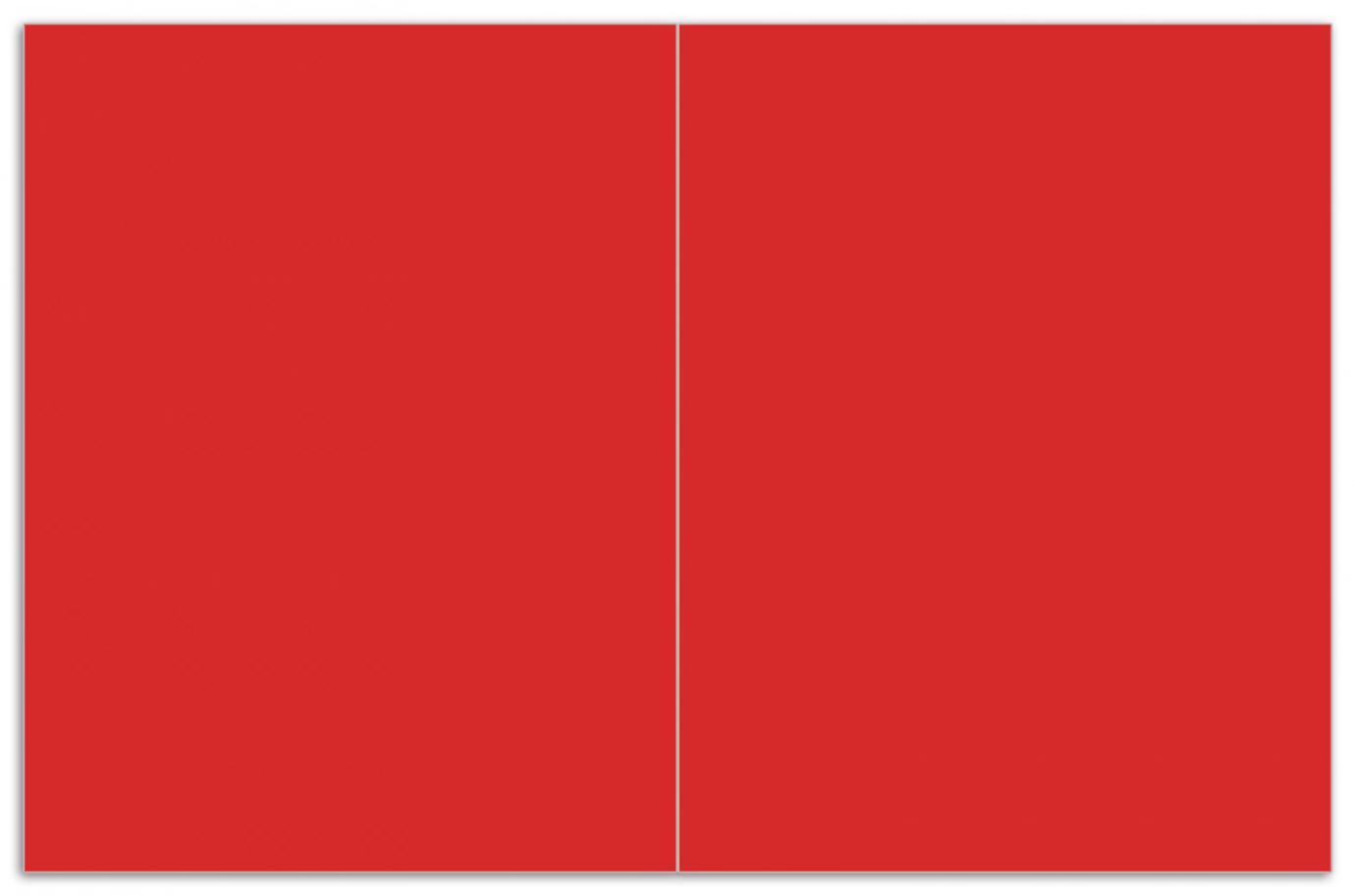 Herdabdeckplatte Rot – Bild 1
