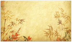 Herdabdeckplatte Herbststimmung – alter Papyrus mit Herbstmotiven – Bild 1