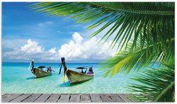 Herdabdeckplatte Sonnenboot in der Karibik – Bild 1