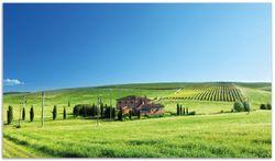 Herdabdeckplatte Farm in der Toskana – Bild 1