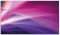 Herdabdeckplatte Abstrakte Formen und Linien in pink lila – Bild 1