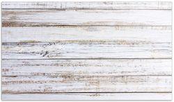 Herdabdeckplatte Helle Holzstruktur - Muster - Alter Dielenfußboden – Bild 1