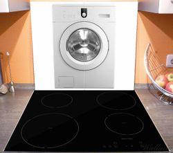 Herdabdeckplatte Waschmaschine Frontlader von vorn – Bild 3