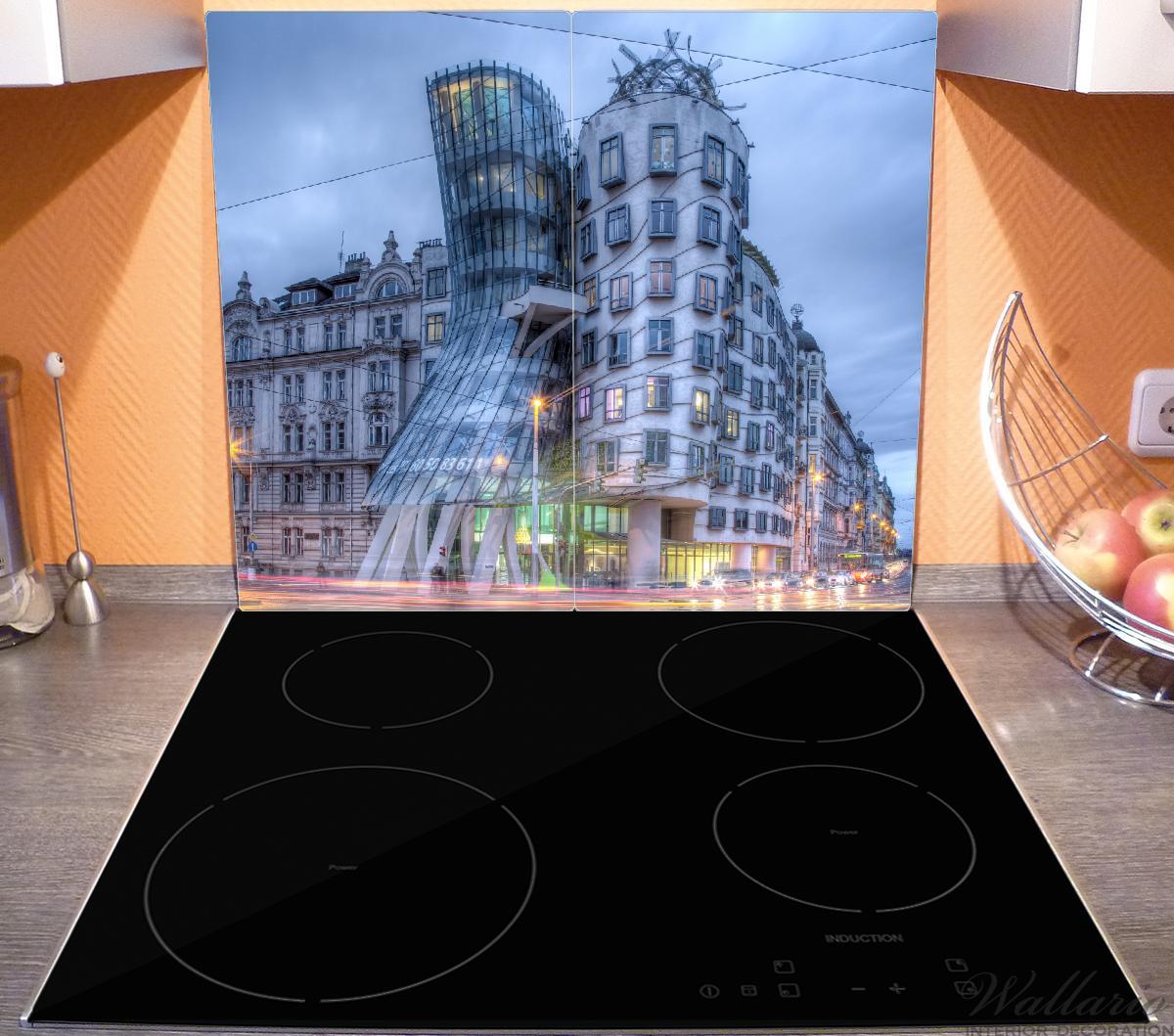 Herdabdeckplatte Das Tanzende Haus in Prag - Tschechien – Bild 3