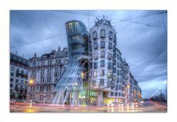 Herdabdeckplatte Das Tanzende Haus in Prag - Tschechien – Bild 1