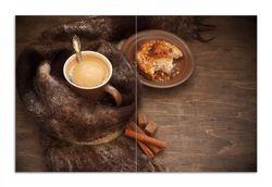Herdabdeckplatte Kuchen und Kaffeegenuss – Bild 1