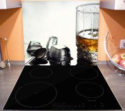 Herdabdeckplatte Whiskey on the Rocks – Bild 3