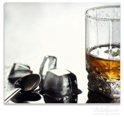 Herdabdeckplatte Whiskey on the Rocks – Bild 1