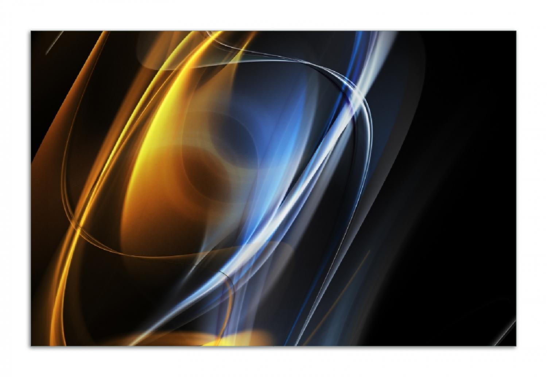 Herdabdeckplatte Abstraktes Design – Bild 1