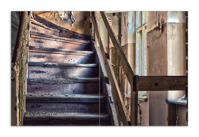 Herdabdeckplatte Treppe in einem alten Haus – Bild 1