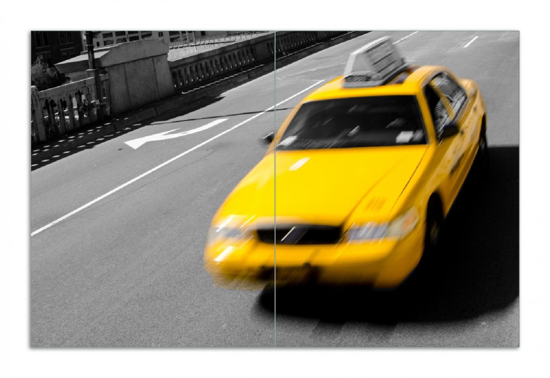 Herdabdeckplatte New York Yellow Taxi II – Bild 1
