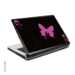 "Laptop Sticker 10"" Butterfly Spray"