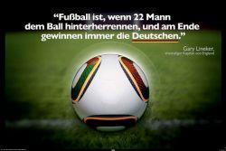 Poster Fussball ist ...