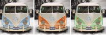 Poster Californian Camper - triptych 001